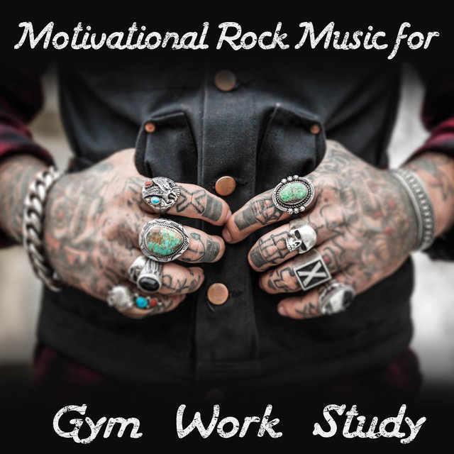 Motivational Rock Music for Gym, Work, Study - Best Instrumental Compilation of Hard & Heavy Rock