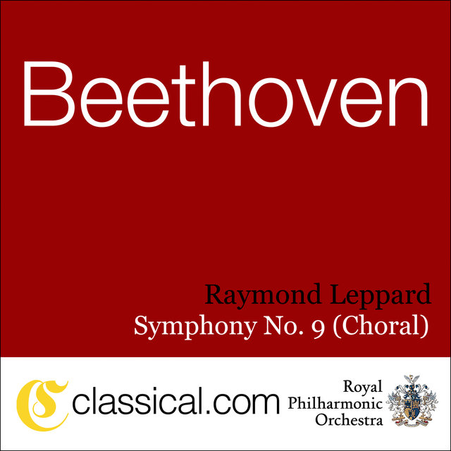Ludwig van Beethoven, Symphony No. 9 In D Minor, Op. 125 (Choral Symphony / Ode To Joy)