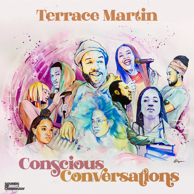 Cover art for album Conscious Conversations - EP by Terrace Martin