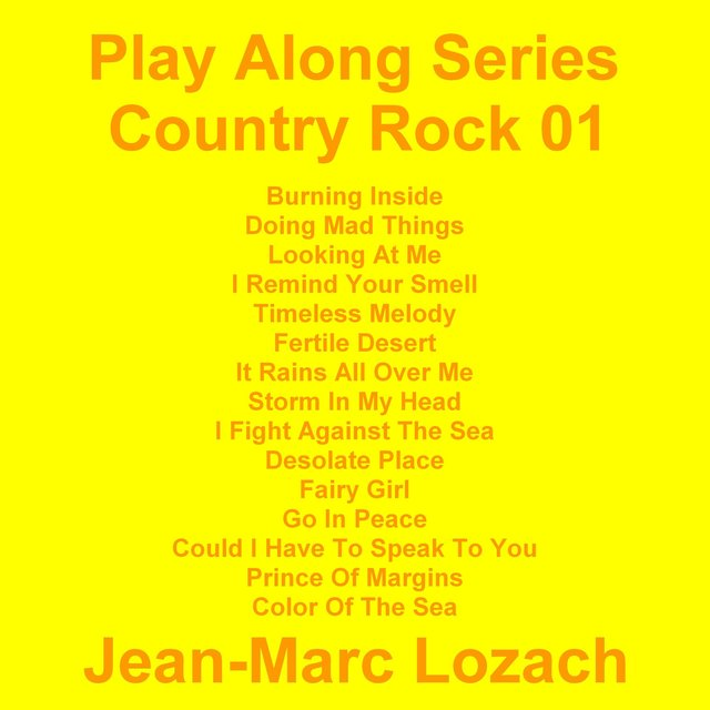 Play Along Series Country Rock 01