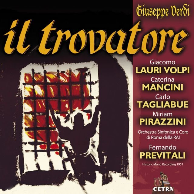 Cetra Verdi Collection: Il trovatore