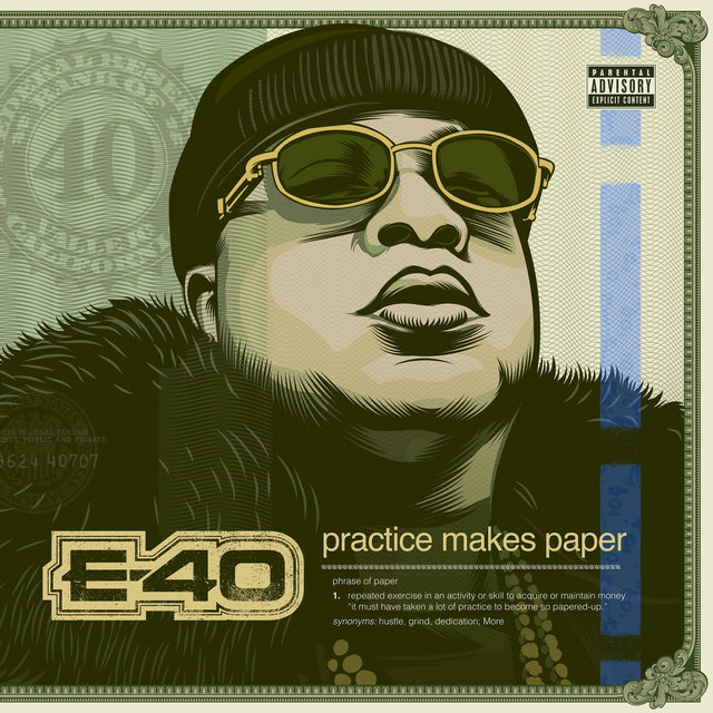 Cover art for album Practice Makes Paper by E-40