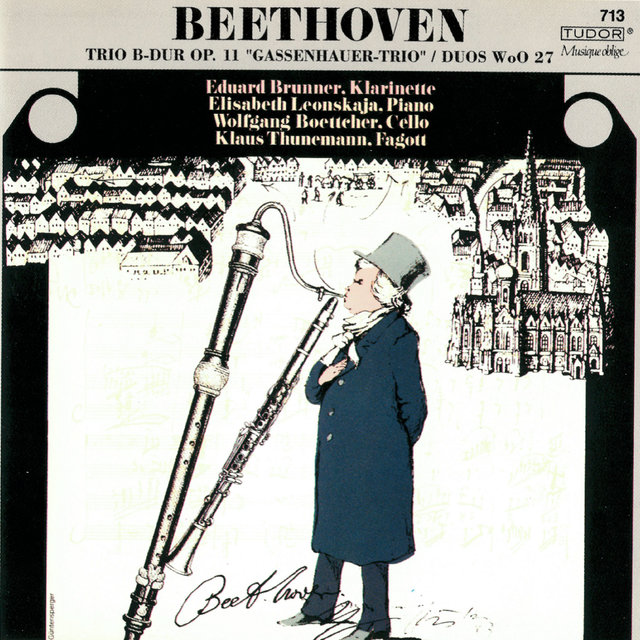 Beethoven: Piano Trio, Op. 11