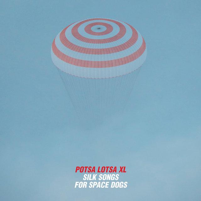 Cover art for album Silk Songs for Space Dogs by Silke Eberhard; Potsa Lotsa Xl