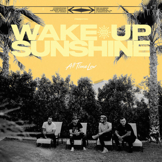 Cover art for album Wake Up, Sunshine by All Time Low