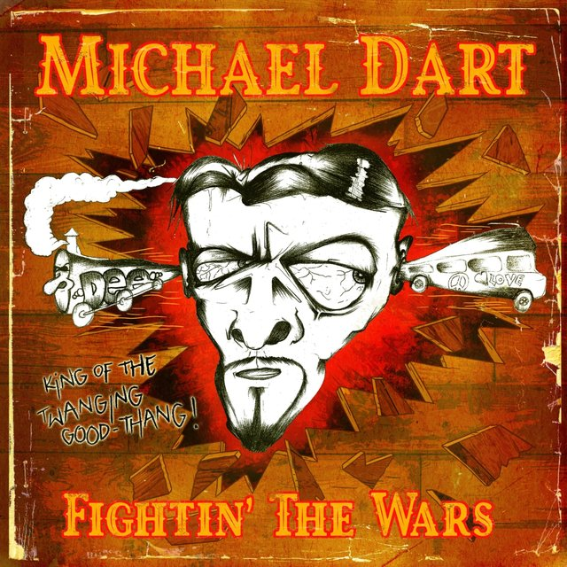 Cover art for album Fightin' the Wars by Michael Dart