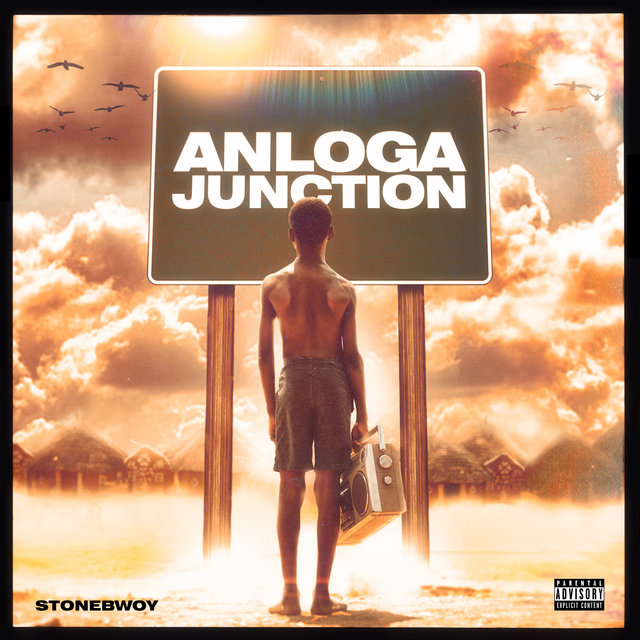 Cover art for album Anloga Junction by Stonebwoy