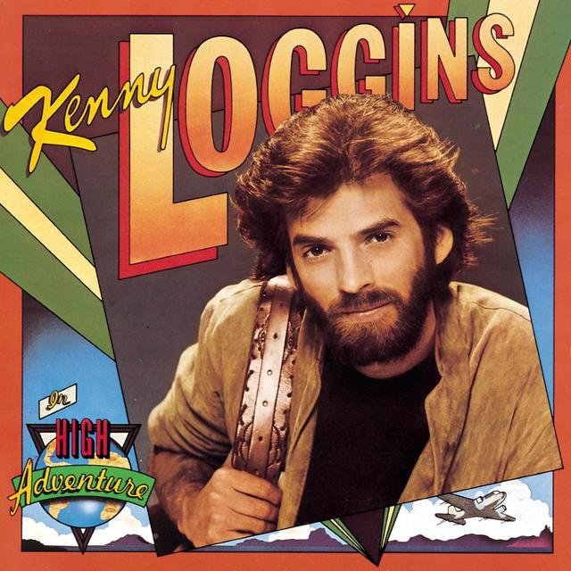 Cover art for album High Adventure by Kenny Loggins