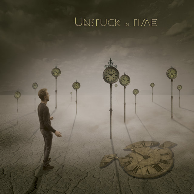 Cover art for album Unstuck in Time by Rick Miller
