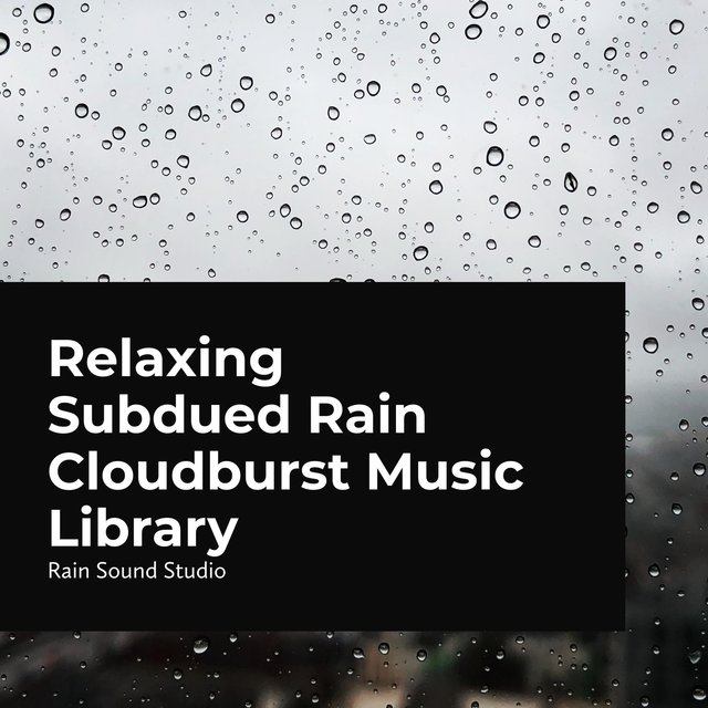 Relaxing Subdued Rain Cloudburst