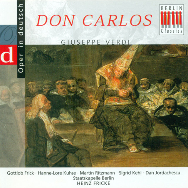 VERDI, G.: Don Carlos (Opera) [Highlights] [Sung in German] [Ritzmann]