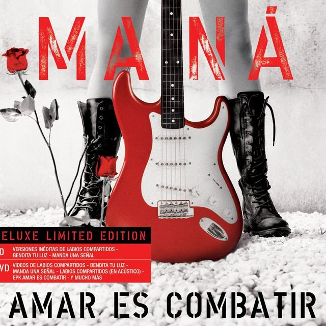 Amar es Combatir (Limited Edition CD+DVD)