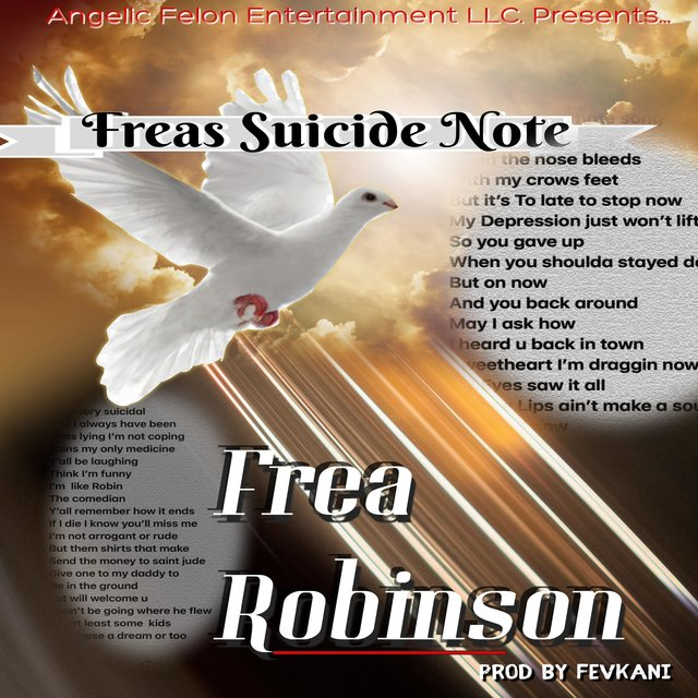 Freas Suicide Note