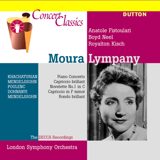 Moura Lympany: The Decca Recordings