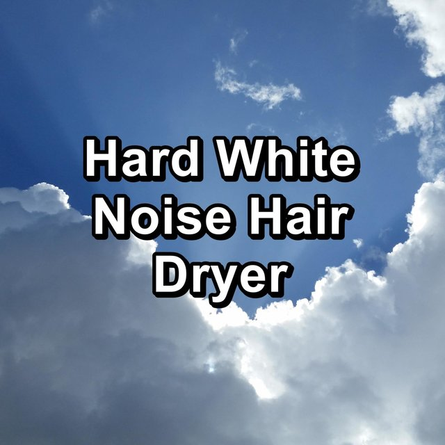 Hard White Noise Hair Dryer