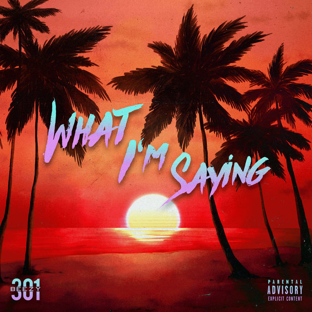 Cover art for album What I'm Saying by BEEZY301
