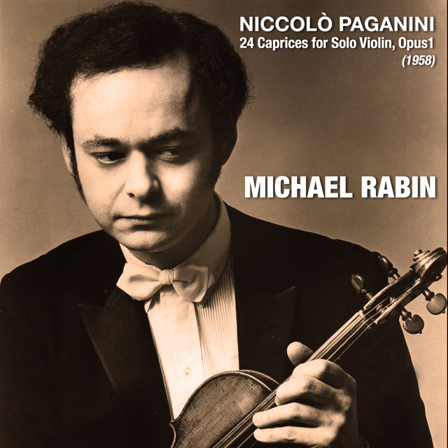 Niccolò Paganini: 24 Caprices for Solo Violin, Opus1 (1958)