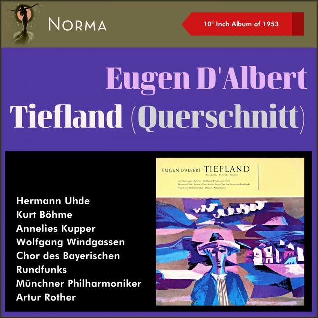 "Eugen d'Albert: Tiefland (Szenen) (10"" Album of 1953)"
