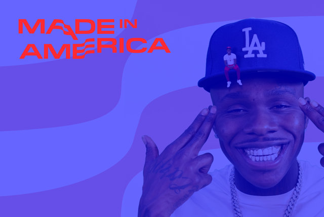 Cover art for album  by DaBaby, Made In America 2019