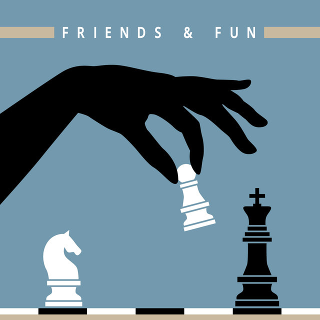 Friends & Fun - Board Games Night Background