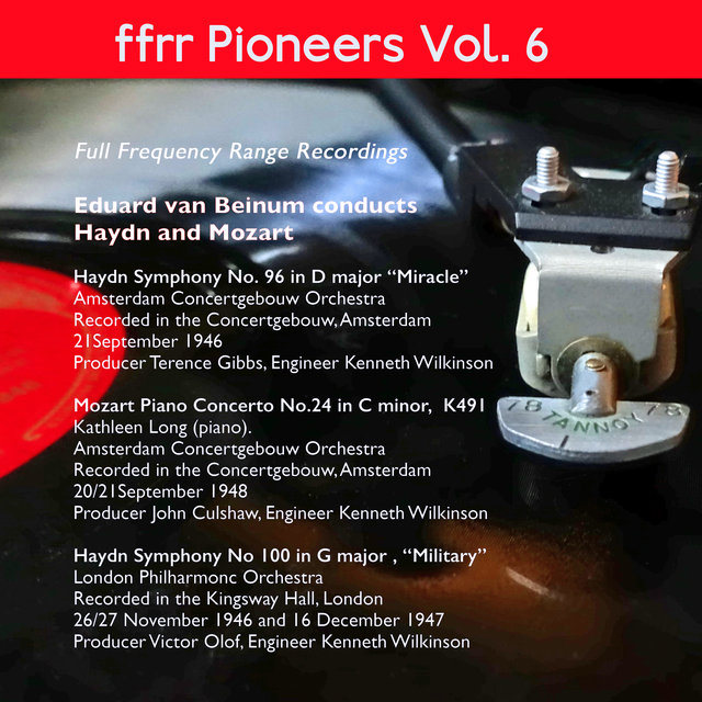 Ffrr Pioneers, Vol. 6: Eduard Van Beinum Conducts Haydn and Mozart