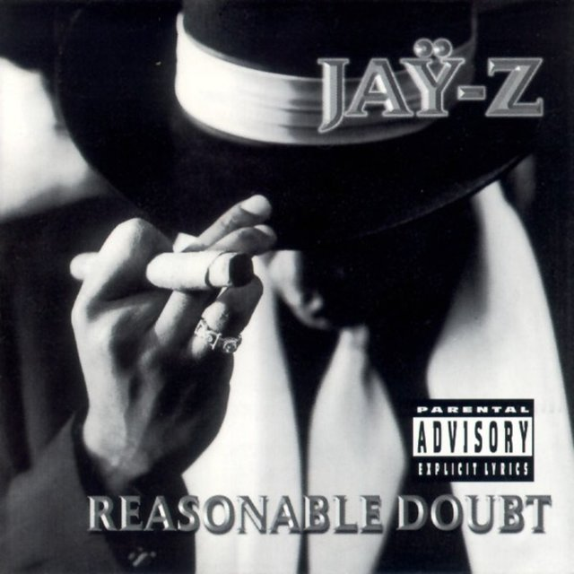 Cover art for album Reasonable Doubt by JAY-Z