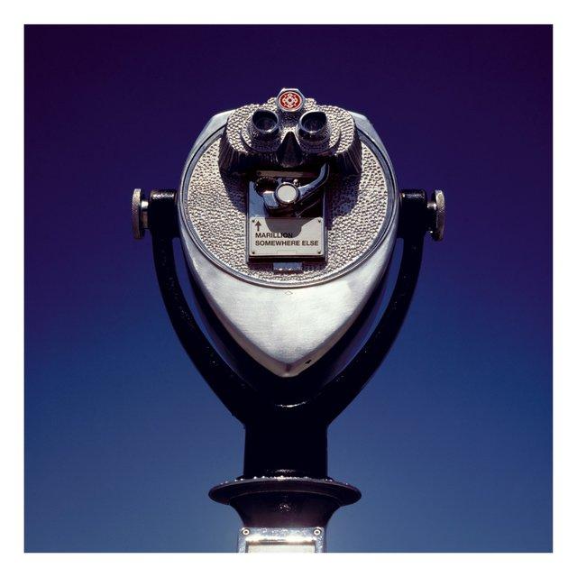 Cover art for album Somewhere Else by Marillion