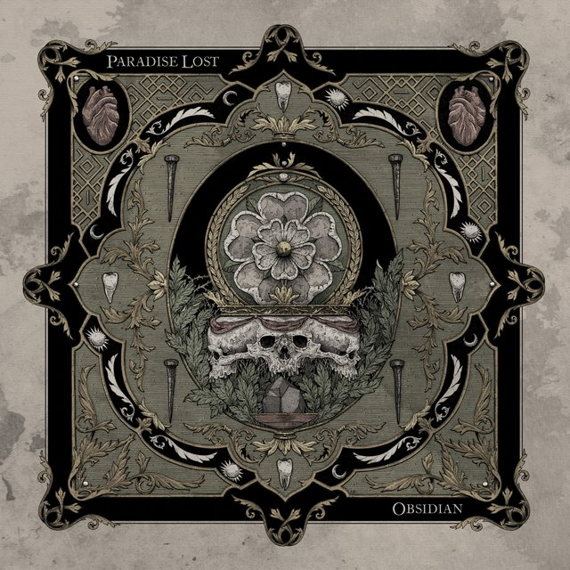 Cover art for album Obsidian by Paradise Lost