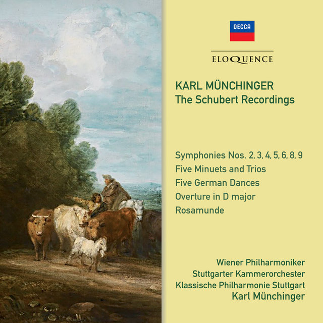 Karl Munchinger: The Schubert Recordings