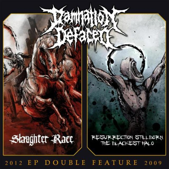 EP Double Feature: Slaughter Race / Resurrection Stillborn - The Blackest Halo