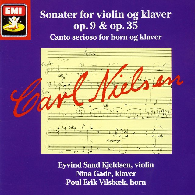 Sonater for violin og klaver op. 9 & op.35