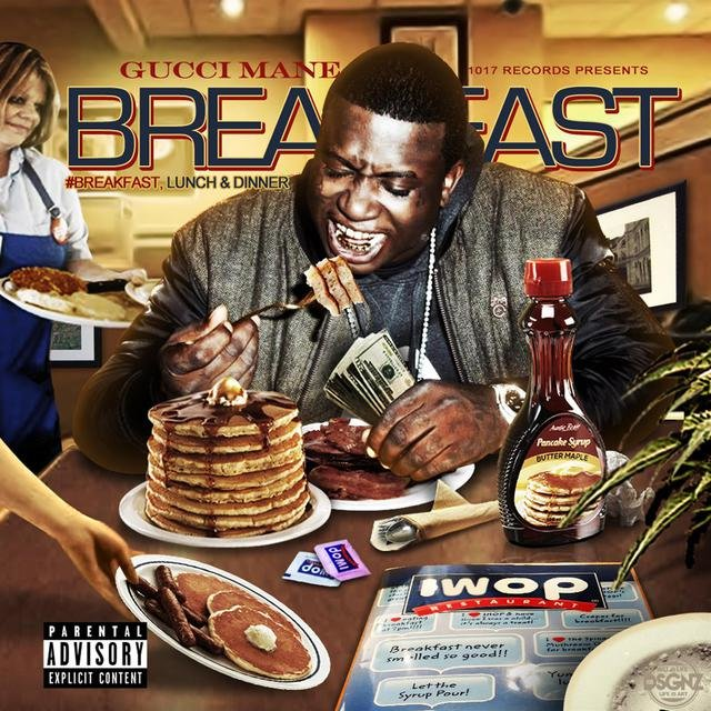 Cover art for album Breakfast by Gucci Mane