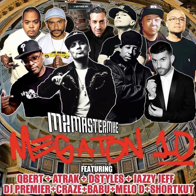 Cover art for album  by Mix Master Mike, DJ Premier, A-Trak, DJ Jazzy Jeff, dj qbert, DJ Babu, D-Styles, Shortkut, Craze, Melo-D