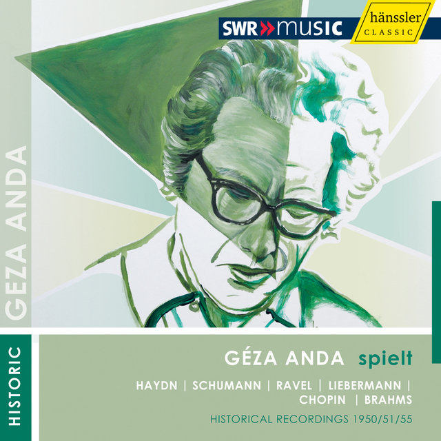 Geza Anda plays Solo Recitals (1950-1955)