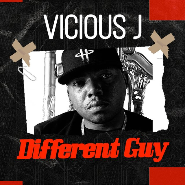 Cover art for album Different GUY by Vicious J