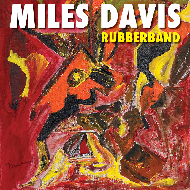 Cover art for album Rubberband by Miles Davis