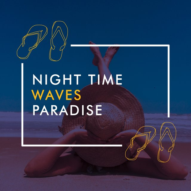 Night Time Waves Paradise