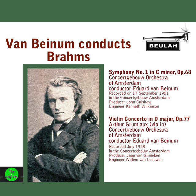 Van Beinum Conducts Brahms