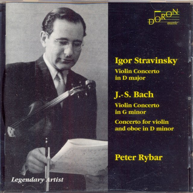 Peter Rybar Plays Stravinsky & J. S. Bach
