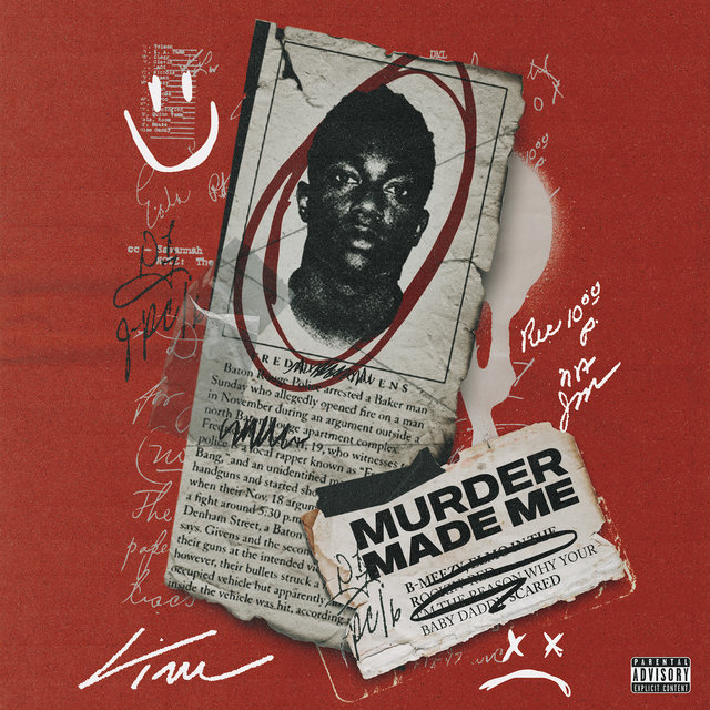 Cover art for album Murder Made Me by Fredo Bang