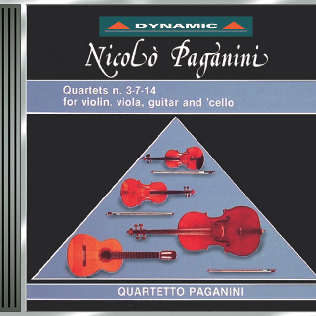 Paganini: 15 Quartets for Strings and Guitar (The), Vol. 2
