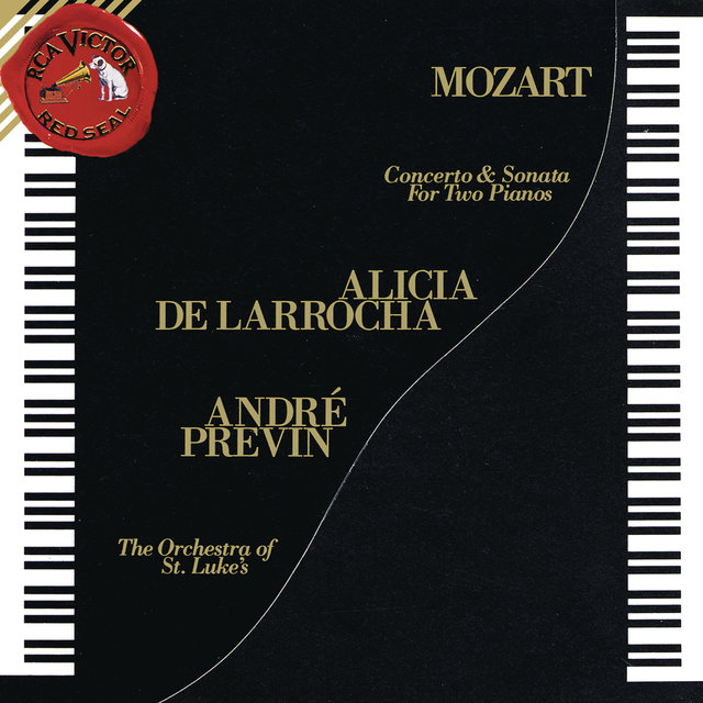 Mozart: Concerto for Two Pianos and Orchestra in E-Flat Major, K. 365 & Sonata for Two Pianos in D Major, K. 448