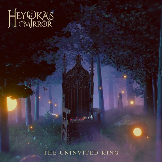Cover art for album The Uninvited King by Heyoka's Mirror