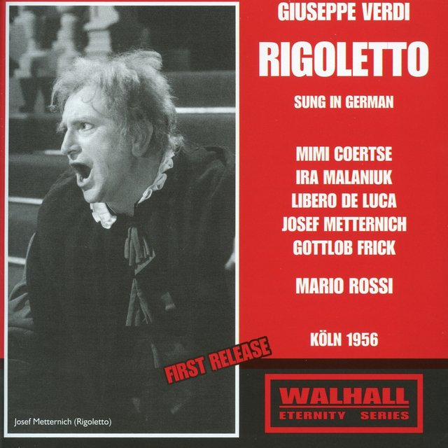 Verdi: Rigoletto (Sung in German) [Recorded 1956]