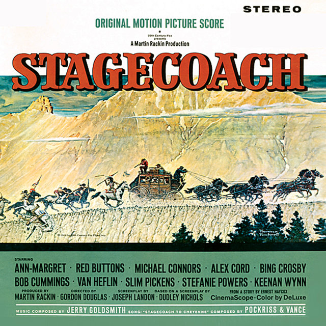 Stagecoach / The Heroes of Telemark (Original Motion Picture Soundtrack)