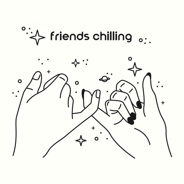 Friends Chilling – Home Relaxation, Deep Rest, Meeting with Friends, Electro Vibes