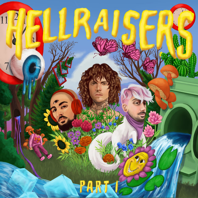 Cover art for album HELLRAISERS, Part 1 by Cheat Codes