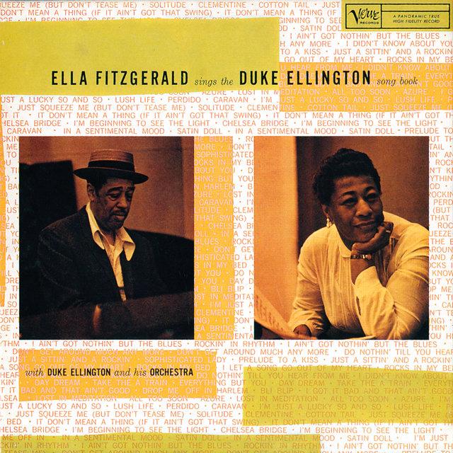 Cover art for album Ella Fitzgerald Sings The Duke Ellington Song Book by Ella Fitzgerald, Duke Ellington & His Orchestra
