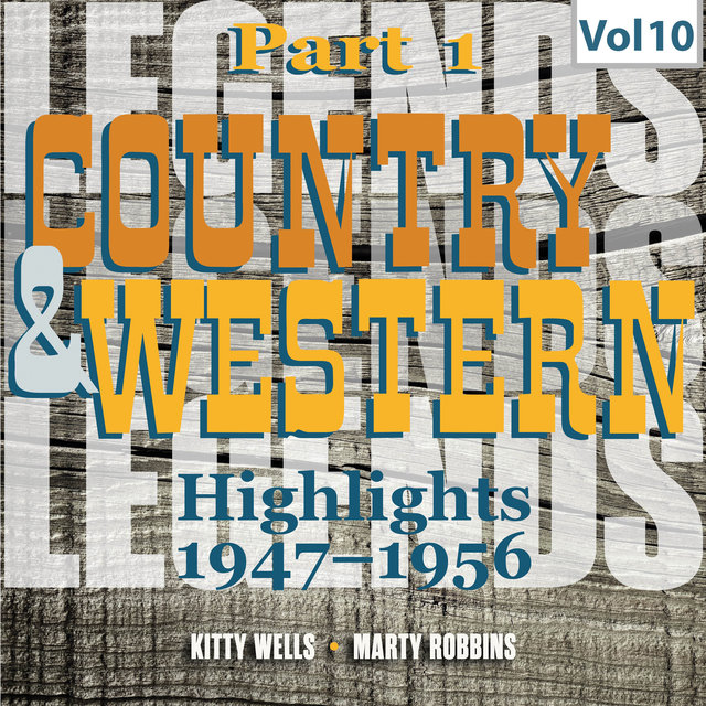 Country & Western. Part 1. Highlights 1947-1956. Vol. 10