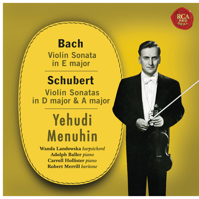 Yehudi Menuhin Plays Bach, Debussy, Schubert, Rachmaninoff and Händel